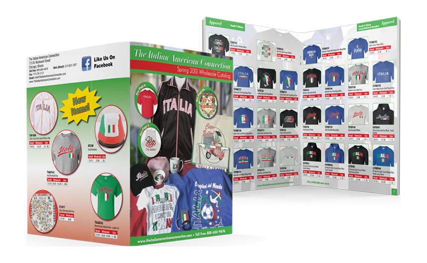 The Italian American Connection 2013 Product Catalog